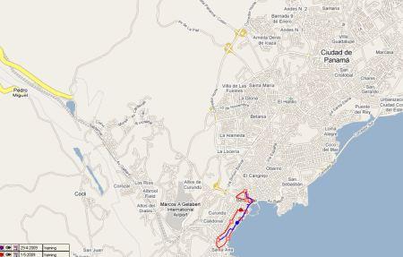 route-panama-city