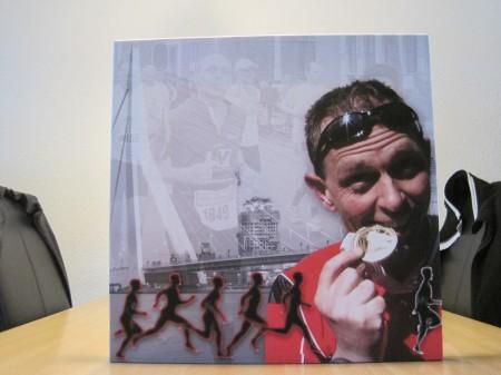 Leuke herinnering aan de Rotterdam marathon