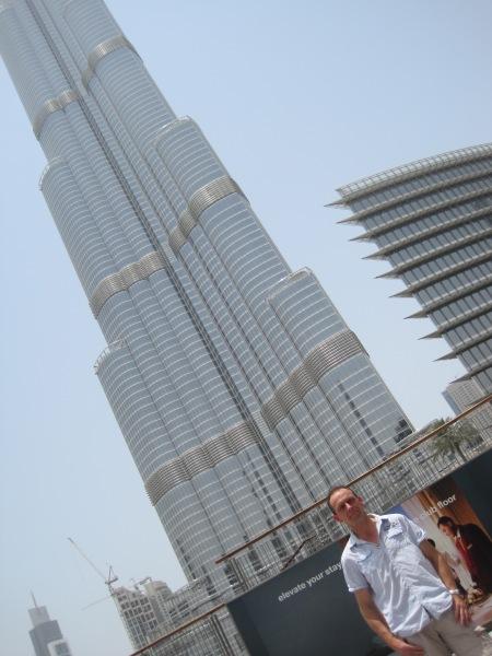 Bij De Burj Khalifa