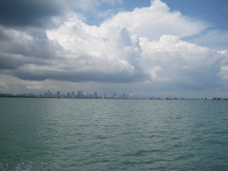 De Skyline van Panama City