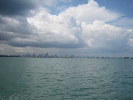 De Skyline van Panama City