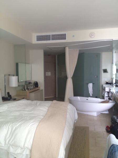 Mijn huiskamer in het Trump Hotel in Panama