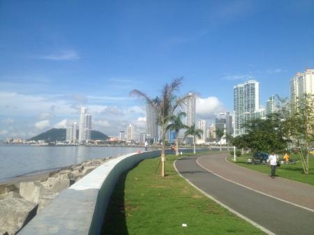 Prachtige boulevard waar je erg goed kon lopen.